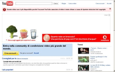 censura youtube