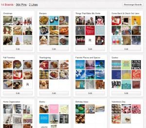 Pinterest-Boards
